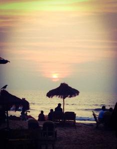 Sunset at Baga