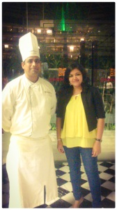 With  Chef Prasenjt Ghosh