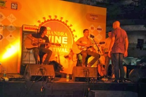 Musical act at Bandra Wine Festival
