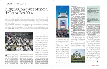 Judging Concours Mondial 2014