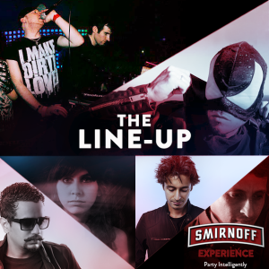 The Line-up _Smirnoff Experience