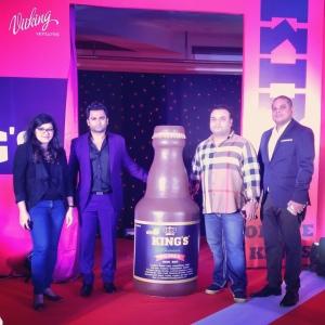L to R : Rojita Tiwari, Sachiin   Joshi, Moksh Sani and Vijay Montecruz