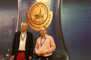 Baudouin Havaux, General Manager & Thomas Costenoble Director, Concours Mondial de Bruxelles