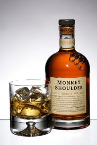 Monkey Shoulder bottle and cocktail
