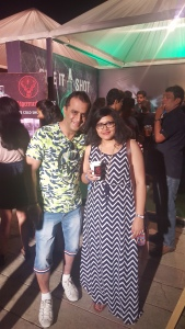 With Rajesh Israni, Aspri Spirits