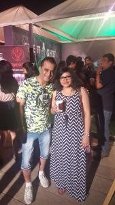 With Rajesh Israni, Aspri Spirits