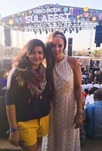 With Cecilia Oldne