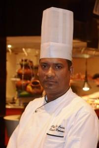 Chef Sirajul- guest chef at Sofitel Mumbai BKC