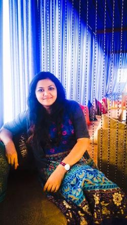 Rojita Tiwari at Suffiana restaurant