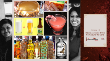 The Drinks & Destinations Podcast Ep  14: Bizarre and Weird