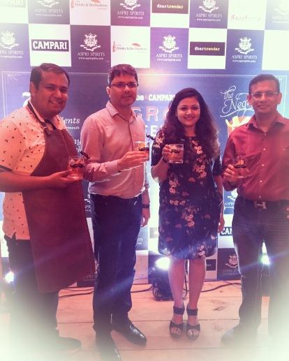Nitin & Rojita with Jackie Matai & Ashutosh Rajput