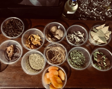 Herbs and spices collected by Thurman Wise from the Mumbai Spice market