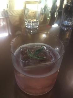 Cocktail at AHA Saloon