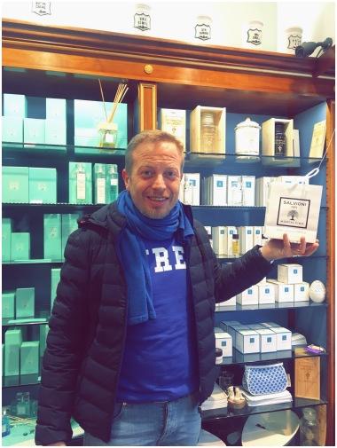 Fabio Salvioni of Farmacia Salvioni