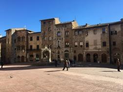 The city of San Gimignano