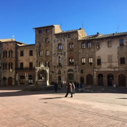 The city of San Gimignano