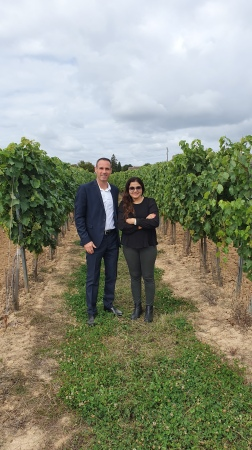 With Maison Hennessy Ambassador, Fabien Levieux
